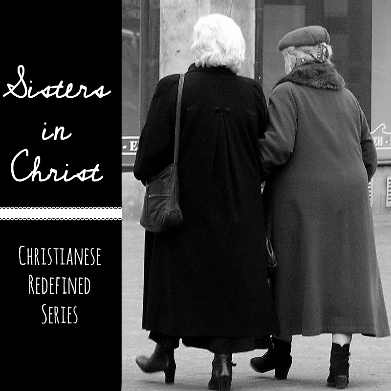 sisters in Christ - Christianese Redefined