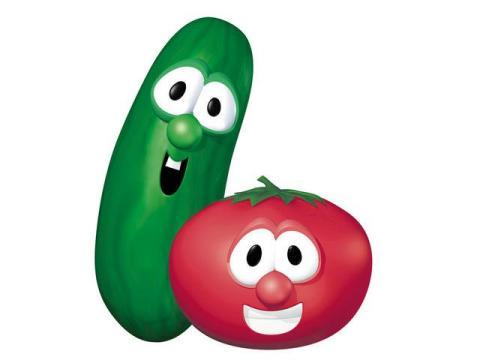 Veggie Tales - Addie Zierman Veggie Tales Larry The Cucumber And Bob The Tomato