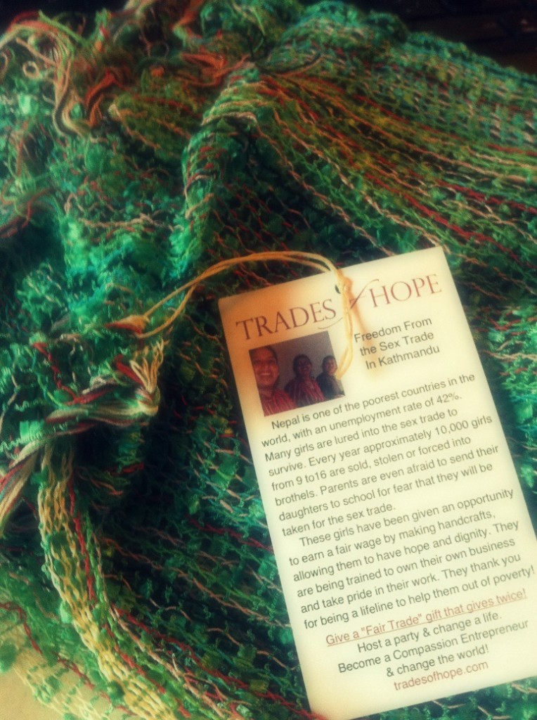 trades of hope scarf 2
