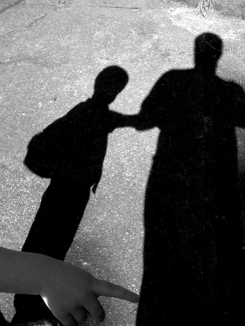 father son shadow - andrechinn
