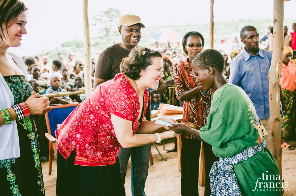 kelley in burundi
