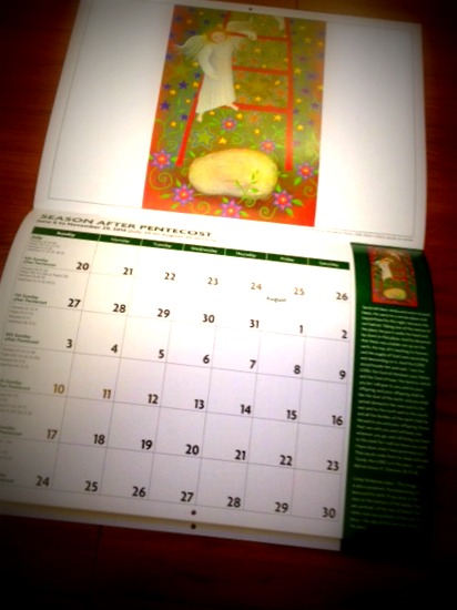 christian calendar 7