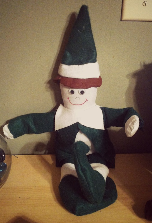 diy elf on the shelf fail