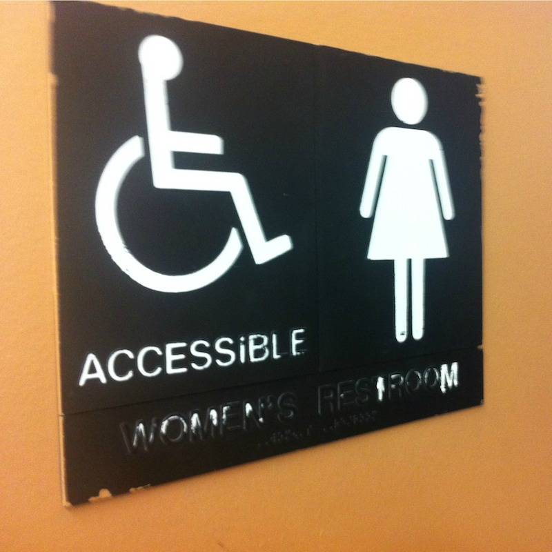 bathroom sign - edited