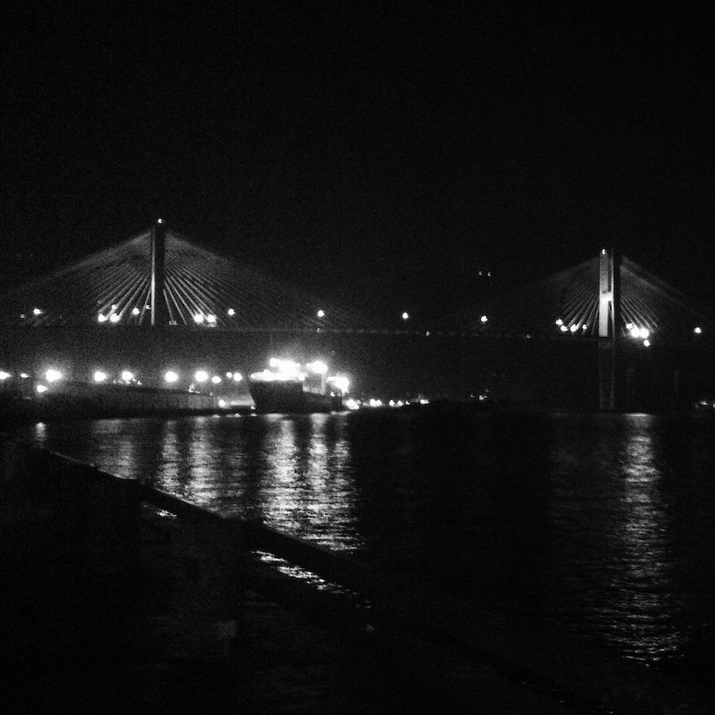 savannah - bridge at night - edited