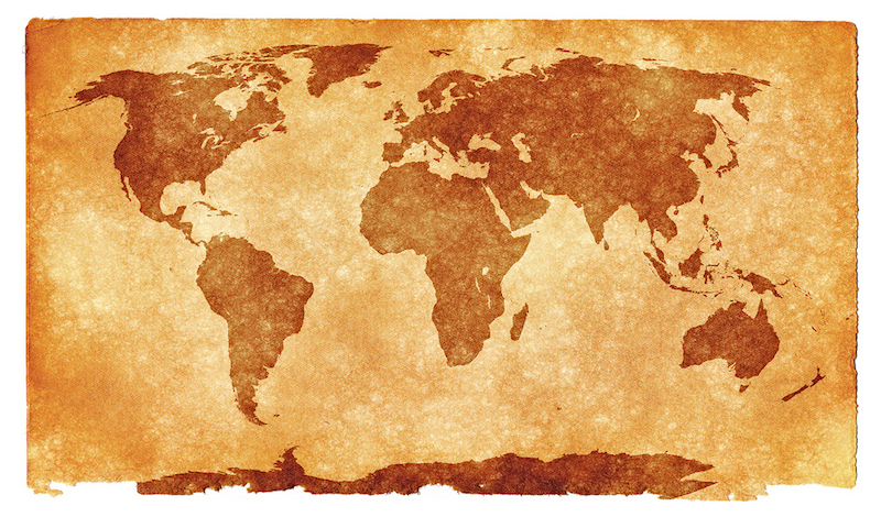 photo credit: World Grunge Map - Sepia via photopin (license)