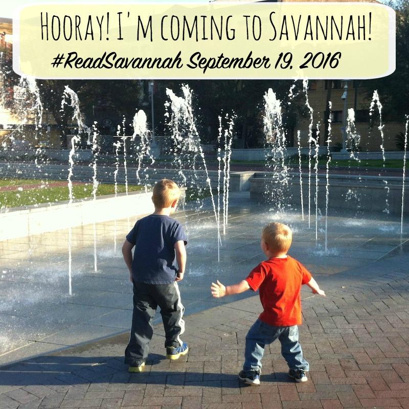 Join me at #ReadSavannah this September!