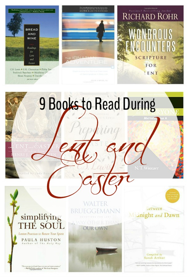 9 Books to Read During Lent