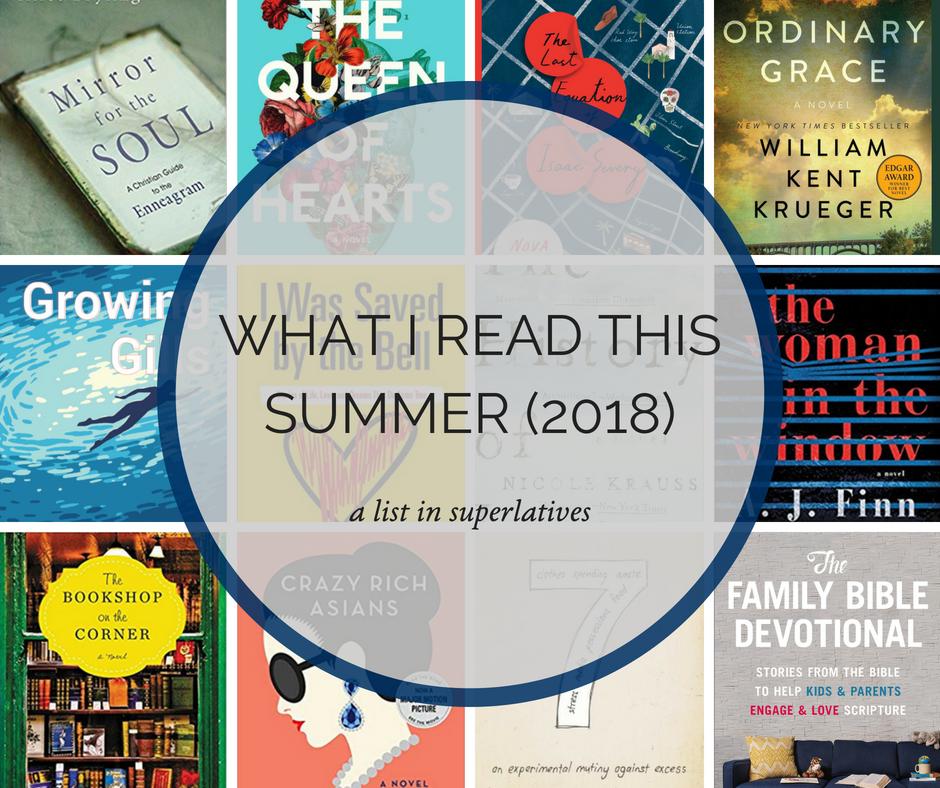 what i read this summer a list in superlatives addie zierman